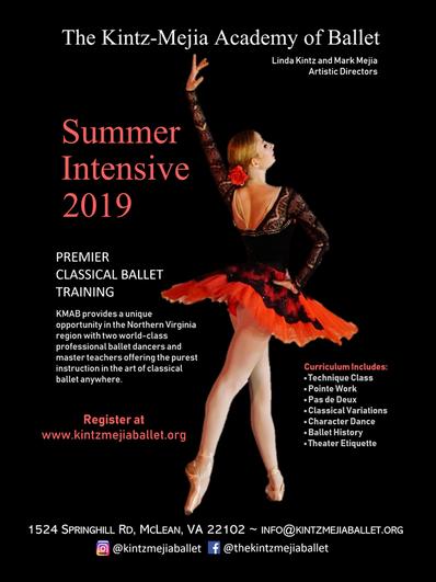 The Kintz Mejia Academy Of Ballet Classes